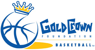 Gold Crown Foundation basketball logo